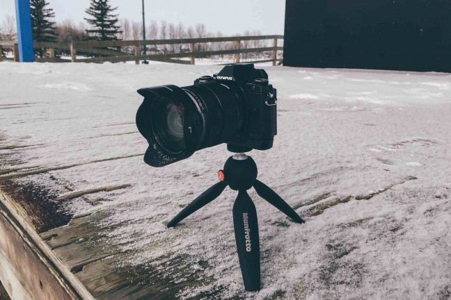 The PIXI Mini is a fantastic tripod for quick shots outdoors.