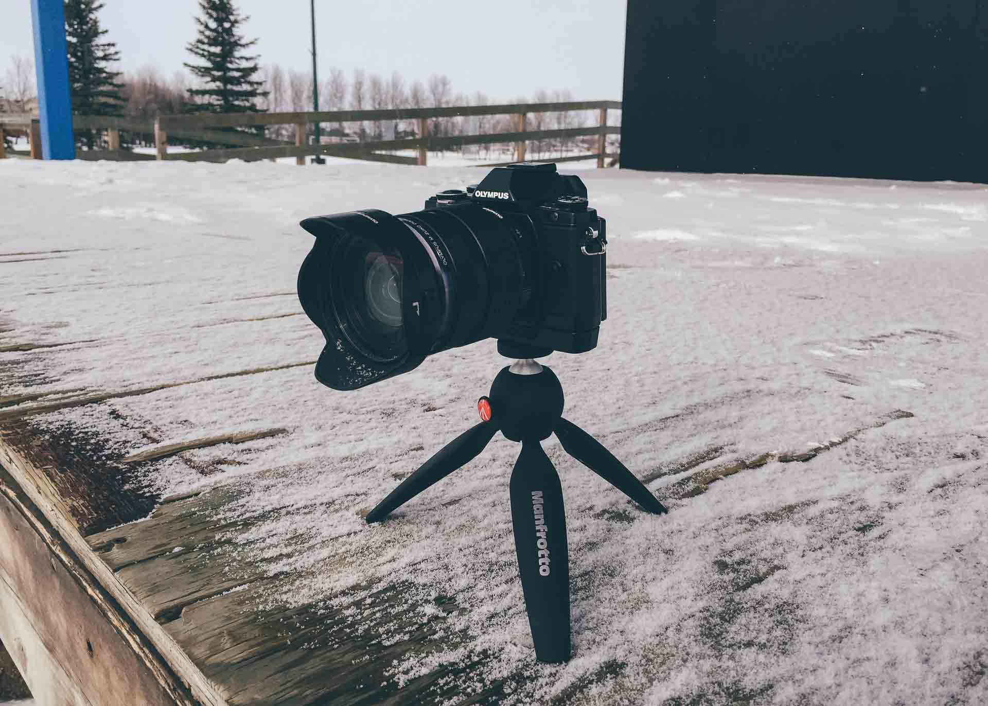 The Manfrotto PIXI Mini Tripod — Tools and Toys