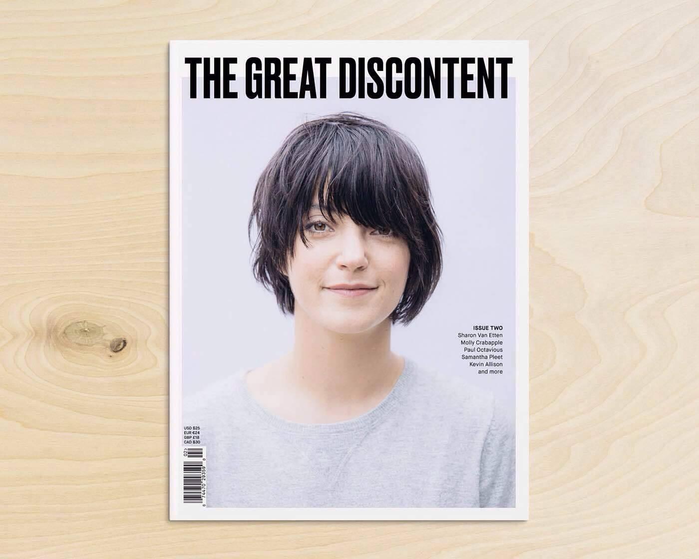 The Great Discontent Magazine. (One digital issue for $15, one print issue for $25, or one of each for $30)