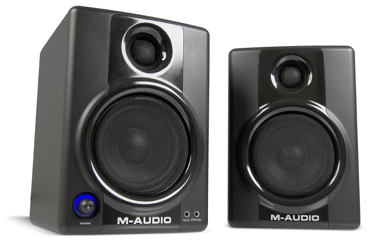 M-Audio AV 40 speakers. ($222)