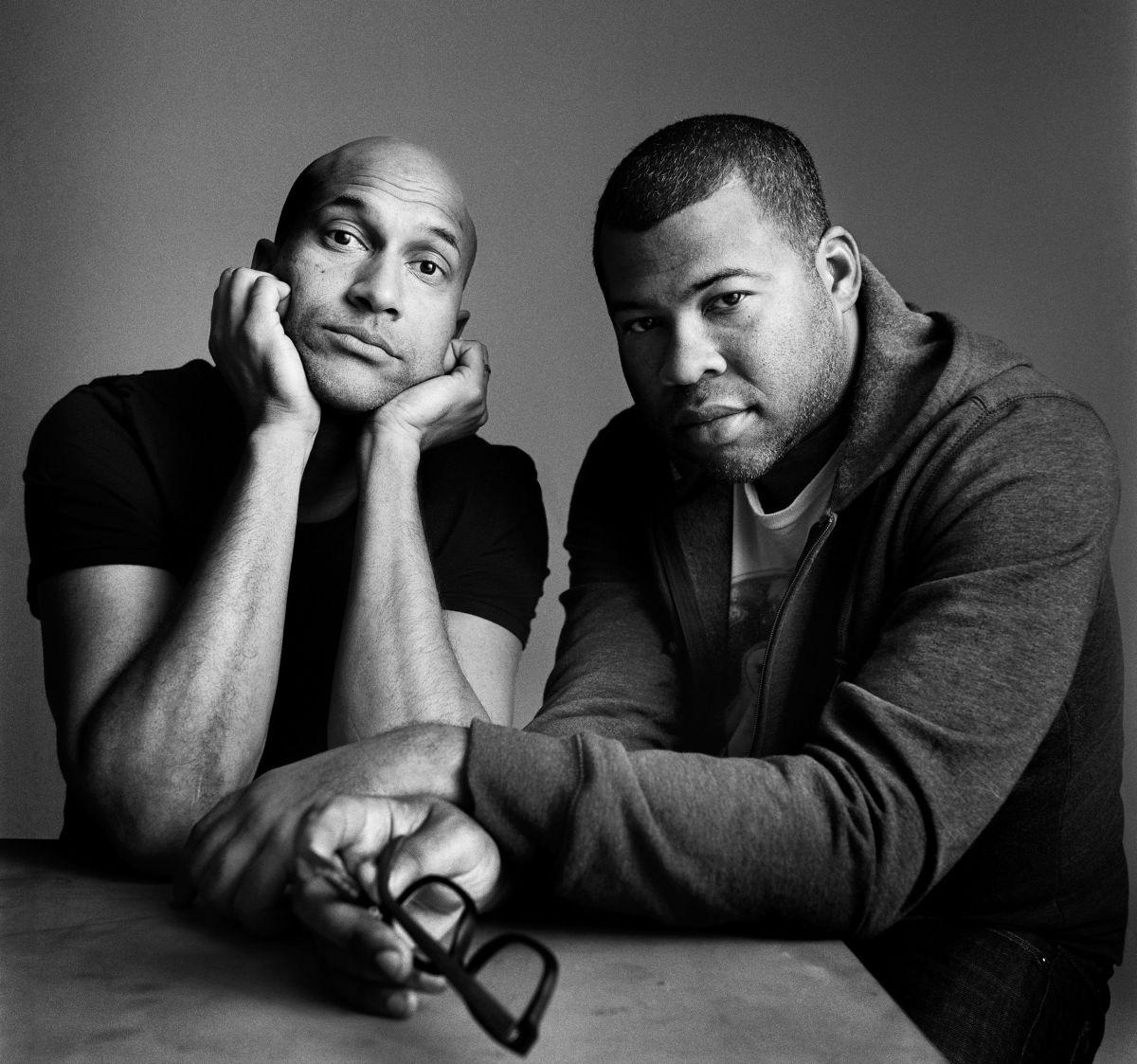 Keegan-Michael Key (left) and Jordan Peele (right). Photo: Graeme Mitchell