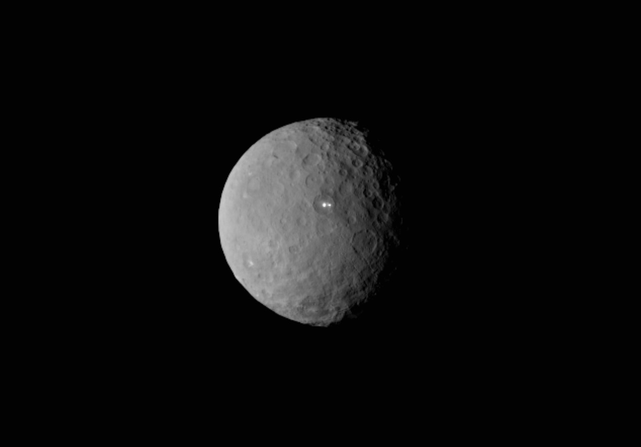 The mysterious lights of dwarf planet Ceres.