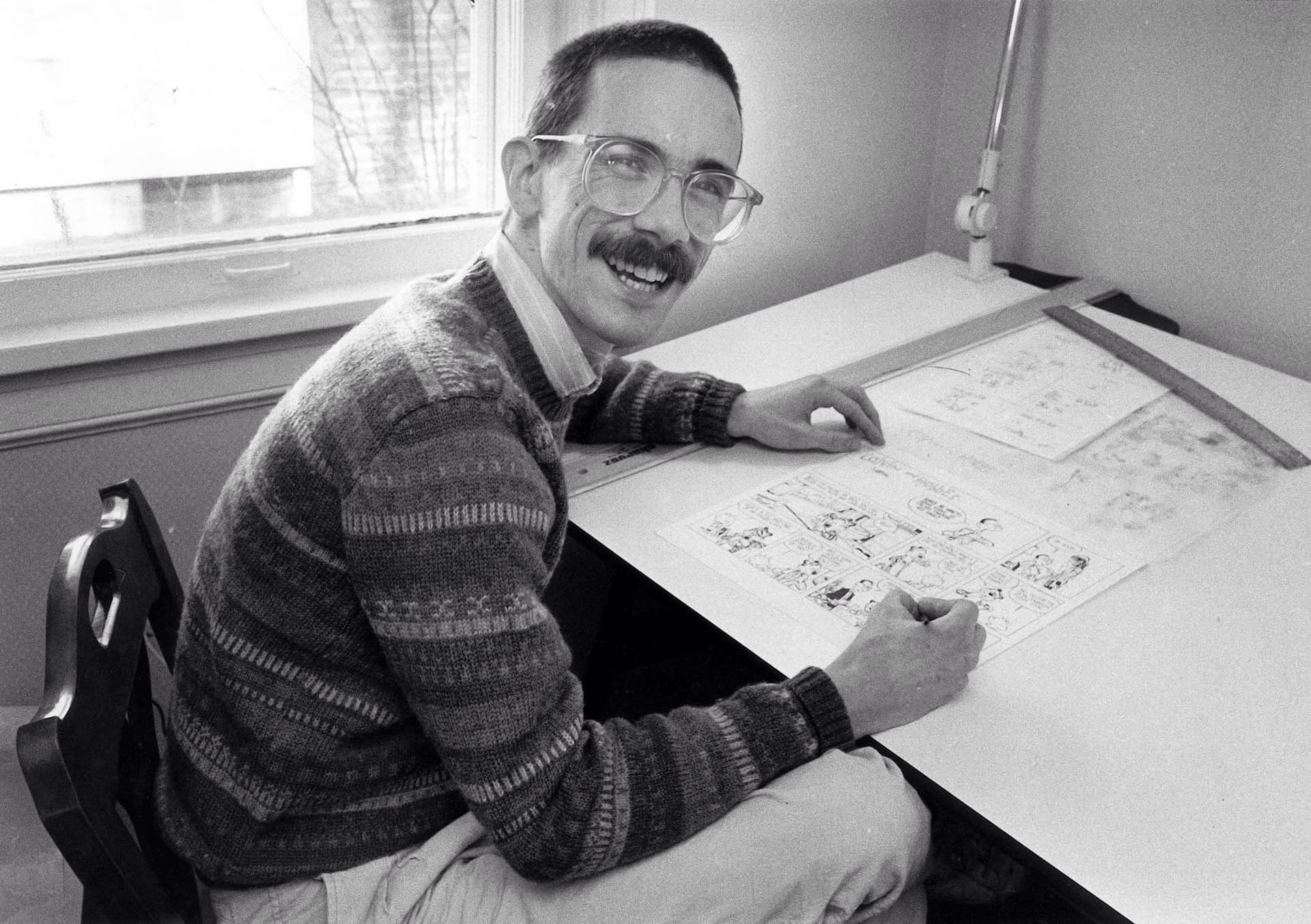 Bill Watterson, creator of Calvin and Hobbes.