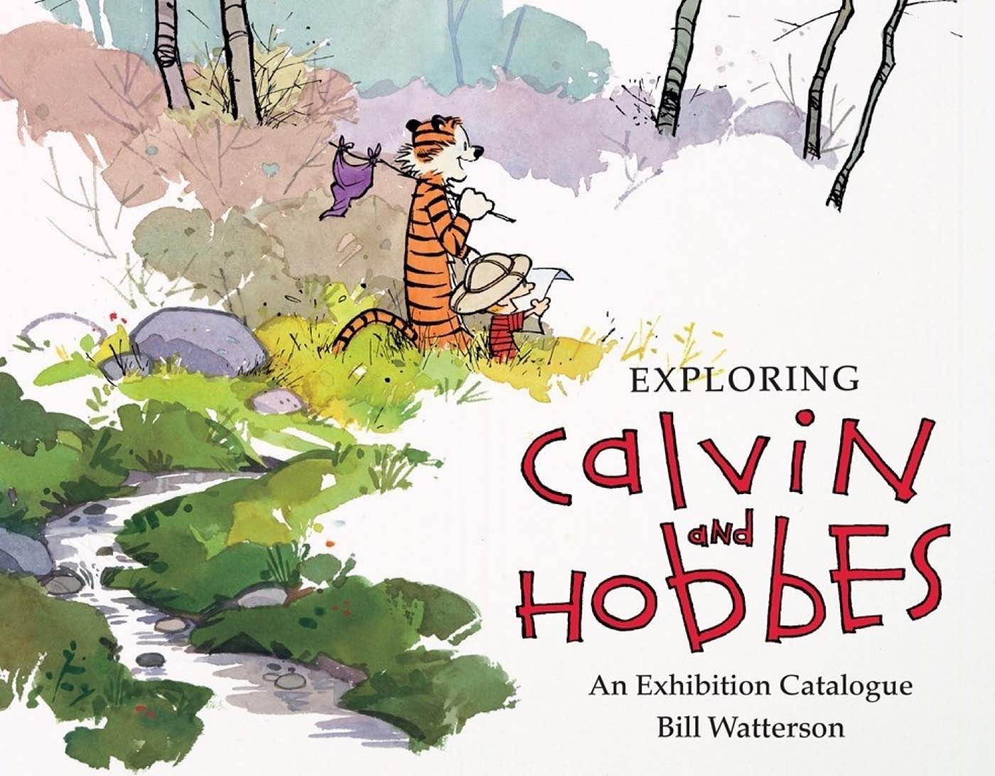 Exploring Calvin and Hobbes: An Exhibition Catalogue by Jenny Robb.