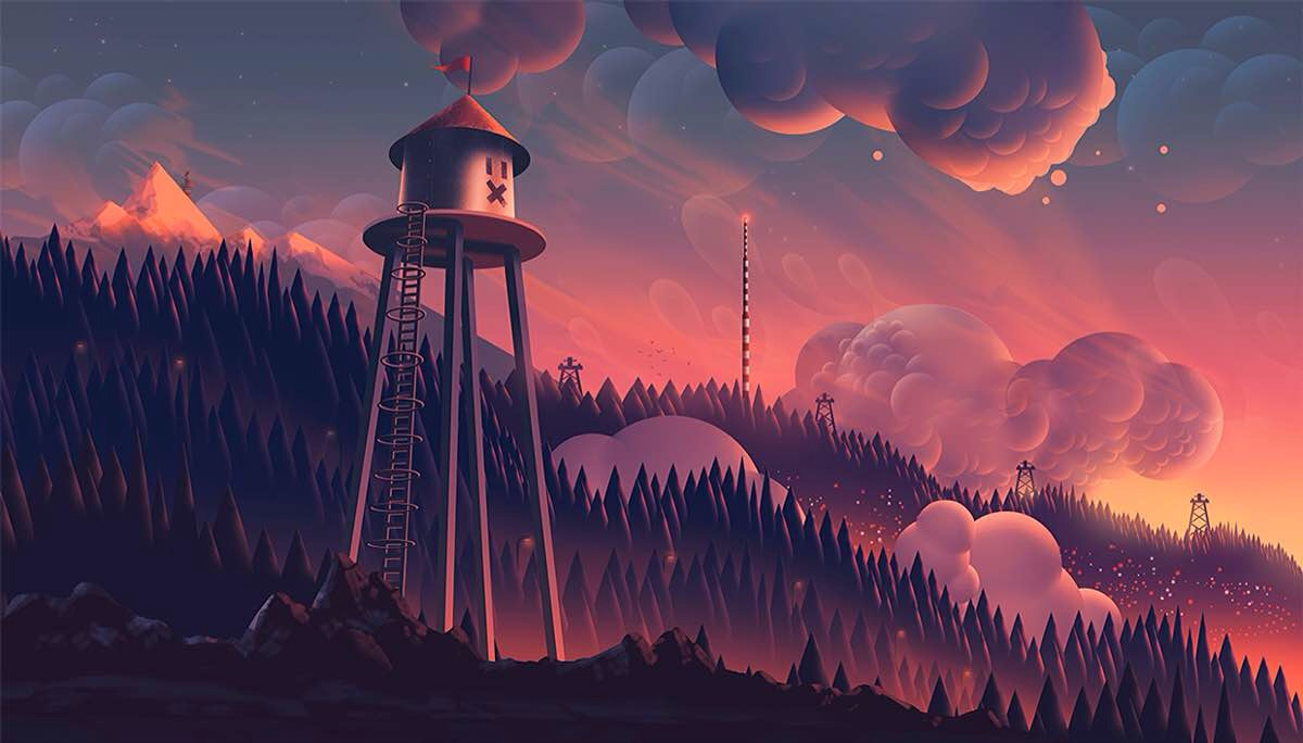 """""""Heights"""" from Aaron Campbell's Clouds & Gradients, Part 3"""