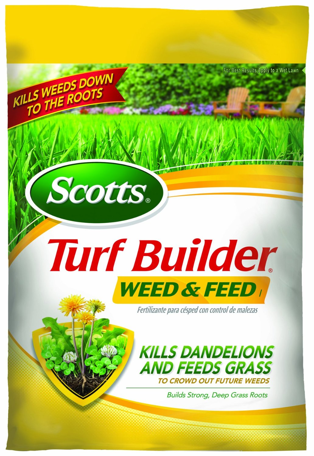 You'll want to apply this Lawn Food product in late Spring.