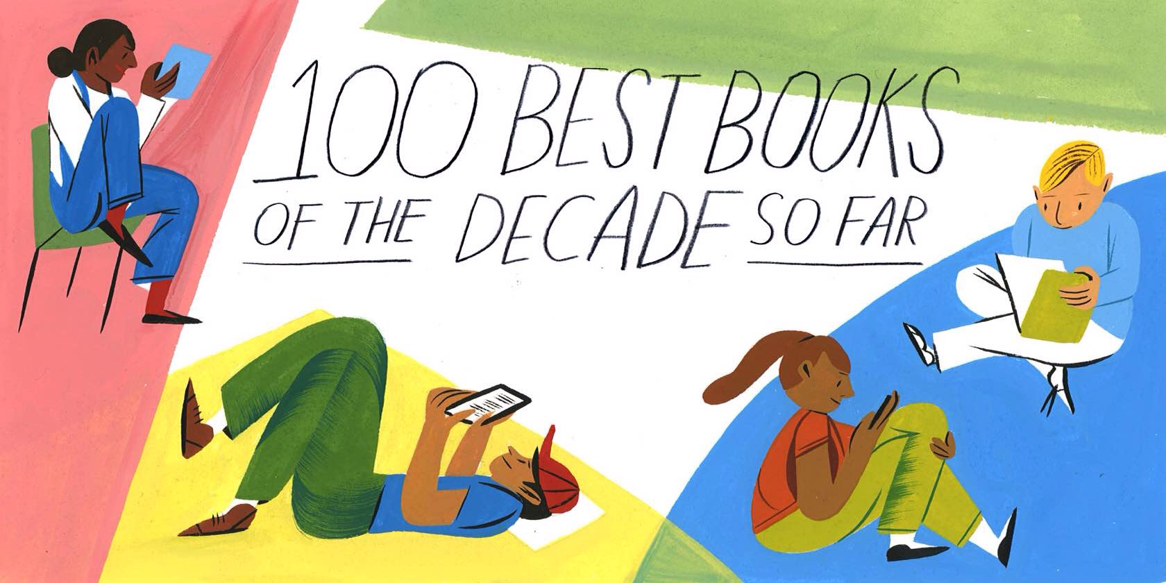 Oyster Review's Top 100 Books of the Decade so Far