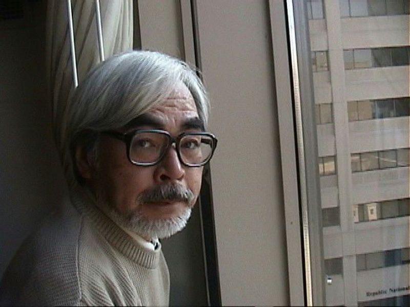 Hayao Miyazaki of Studio Ghibli.