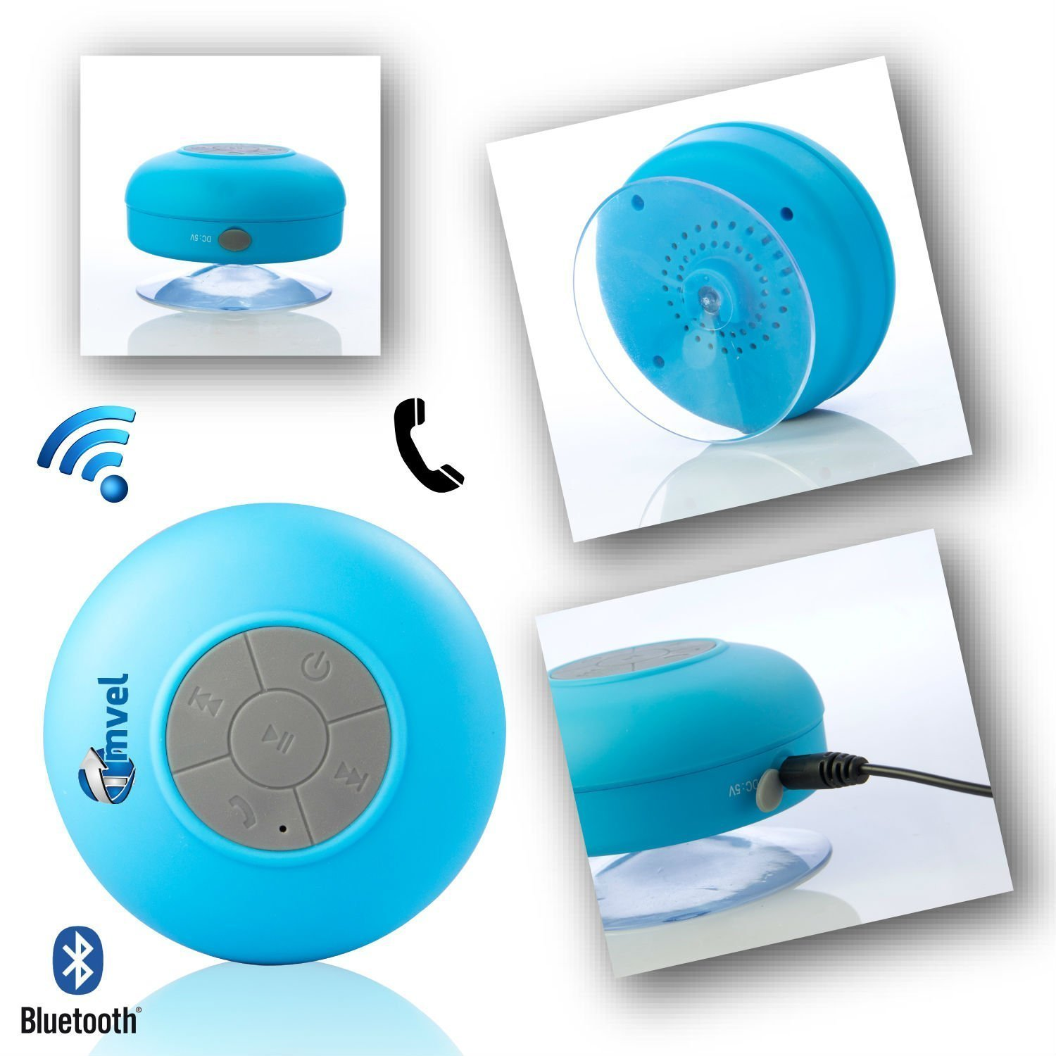 Tmvel's Bluetooth shower speaker. ($11)