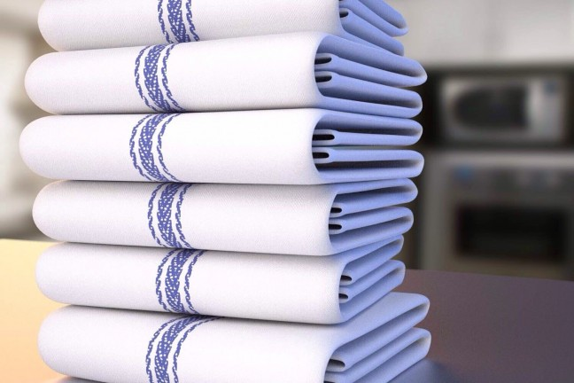 Keeble Outlets' professional-grade kitchen towels. ($20 for pack of 12)