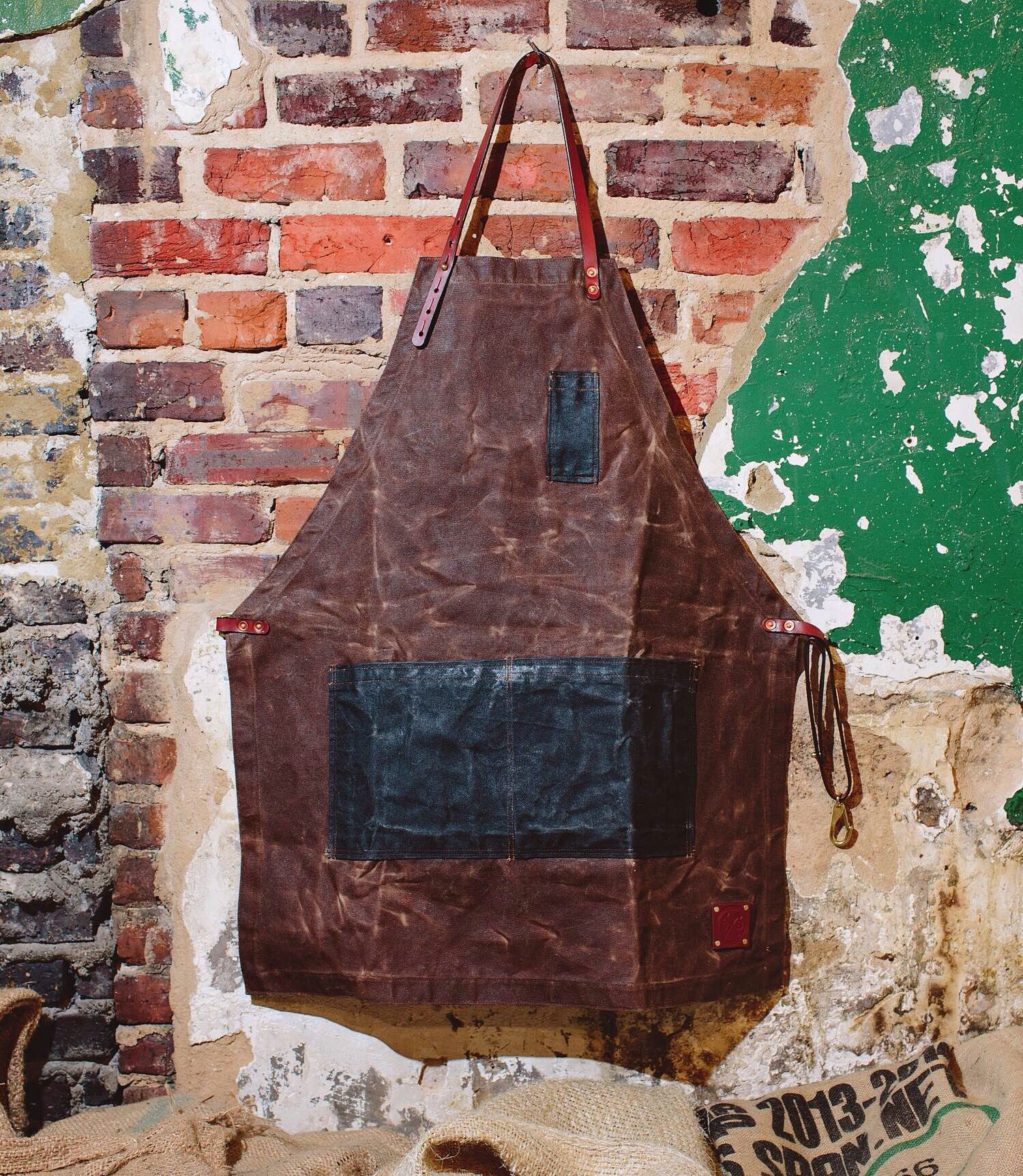 The Charles apron by Sturdy Brothers. ($150)