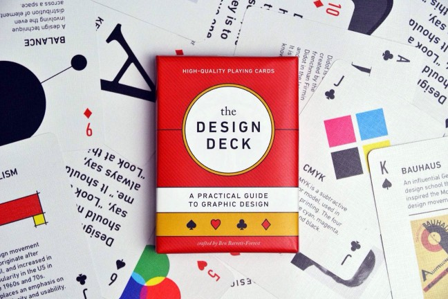 The Design Deck by Forrest Goods. (Normally $20, currently $17)
