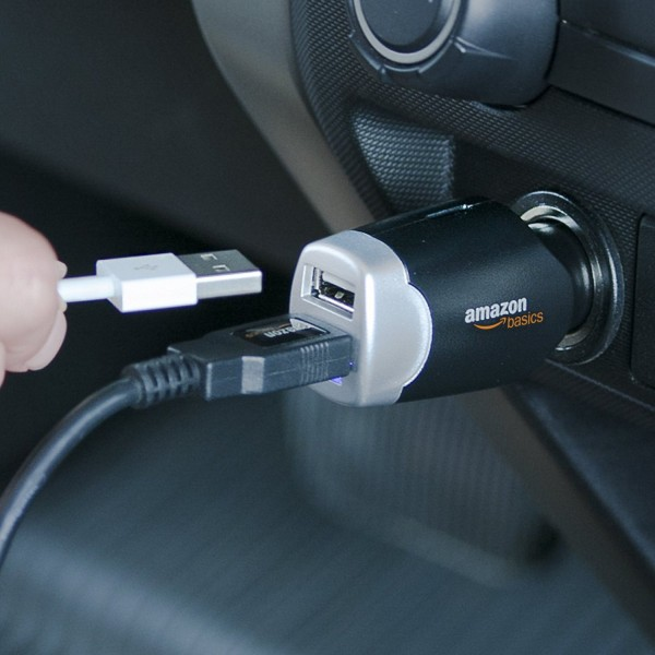 With 2 USB ports and a lot of power, this is great car charger.