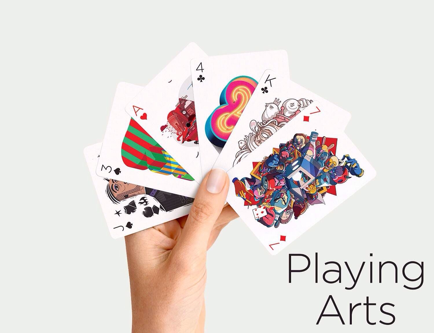 """Playing Arts"" playing card decks. ($15 per edition)"
