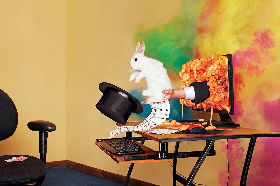 Photo: Asger Carlsen; Set design: Dave Bryant