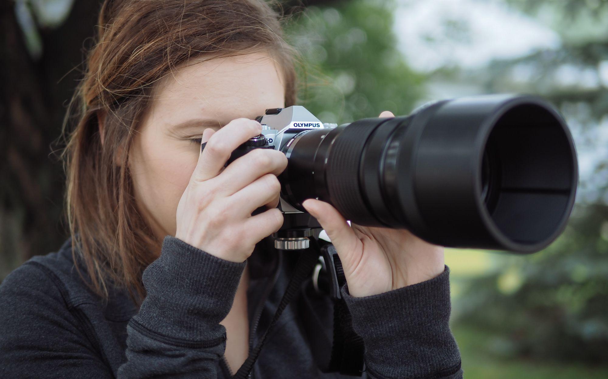Olympus 40-150mm PRO Lens