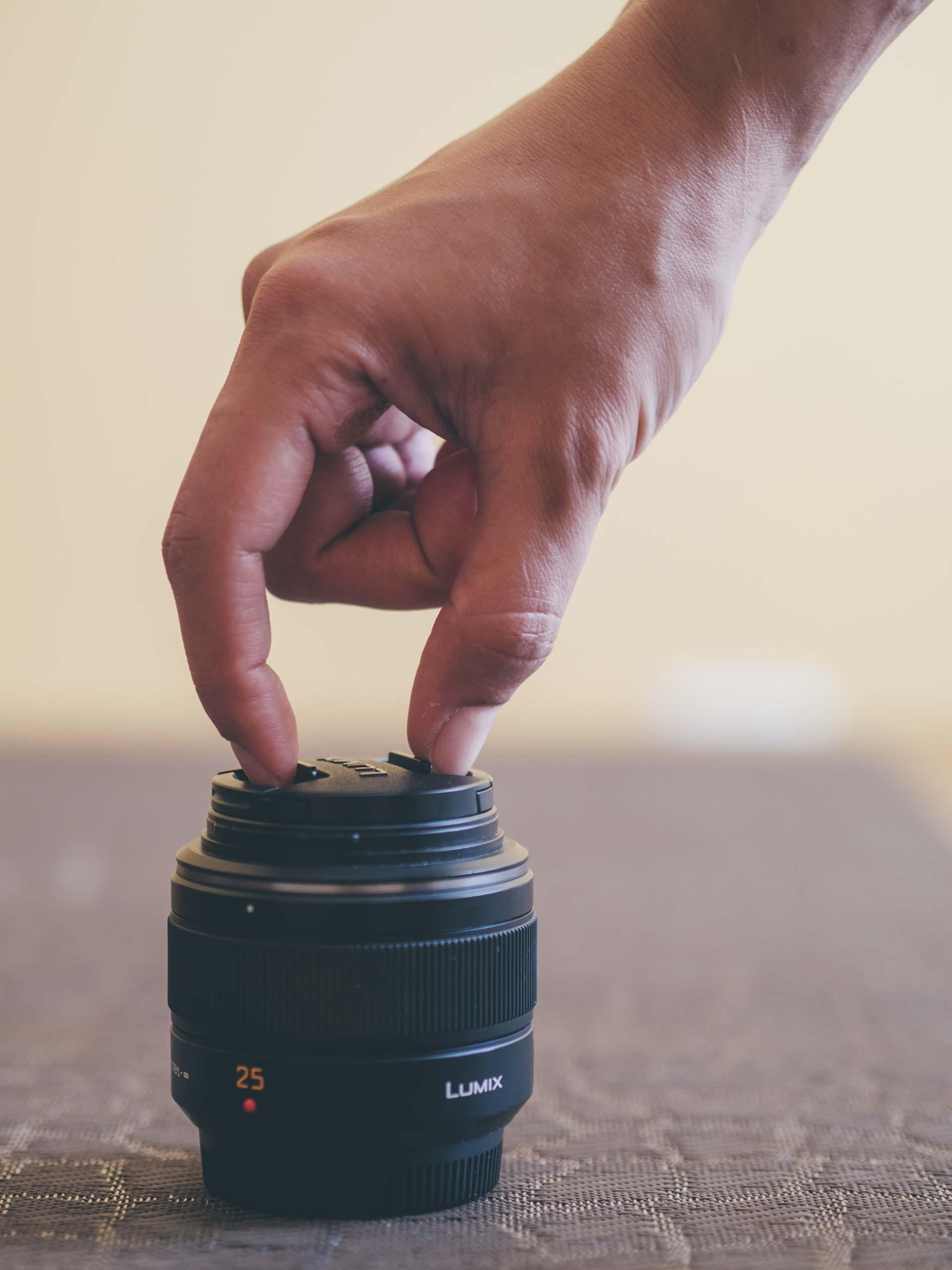 Panasonic Leica 25mm Lens