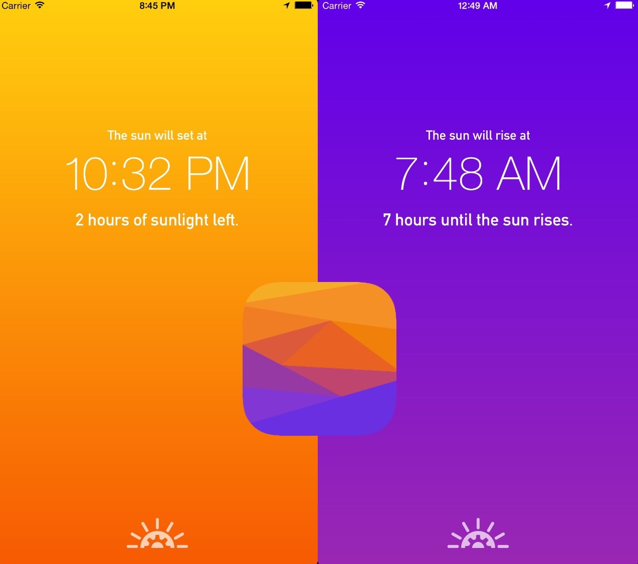 nox-sunrise-and-sunset-checker-for-iphone