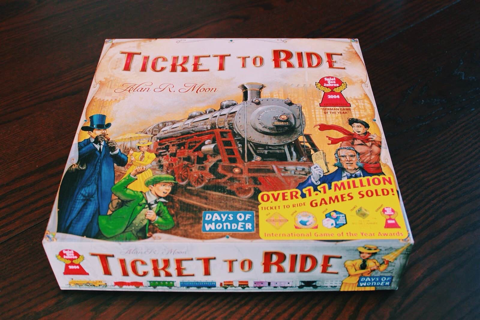 Ticket to Ride ($36)