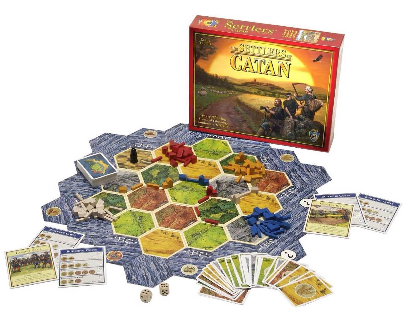 The Settlers of Catan ($50)