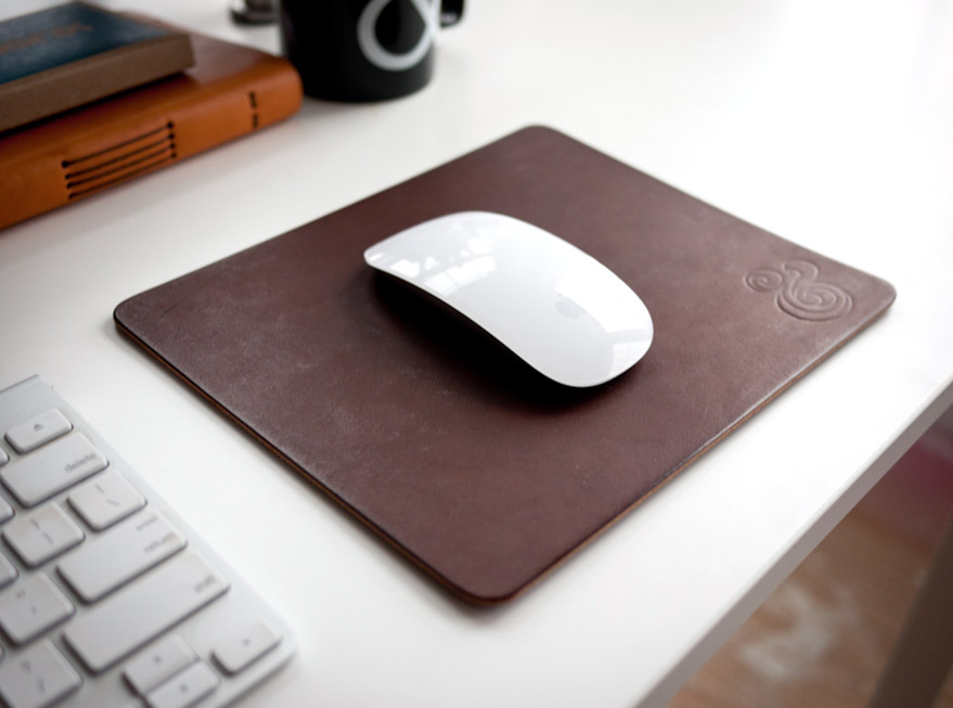 Ugmonk's leather mousepad. ($36)