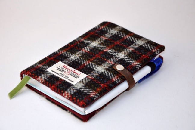 Esplanade London's Harris Tweed device sleeves and notebook covers. (Prices vary)