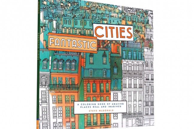 Fantastic Cities by Steve McDonald. ($11)