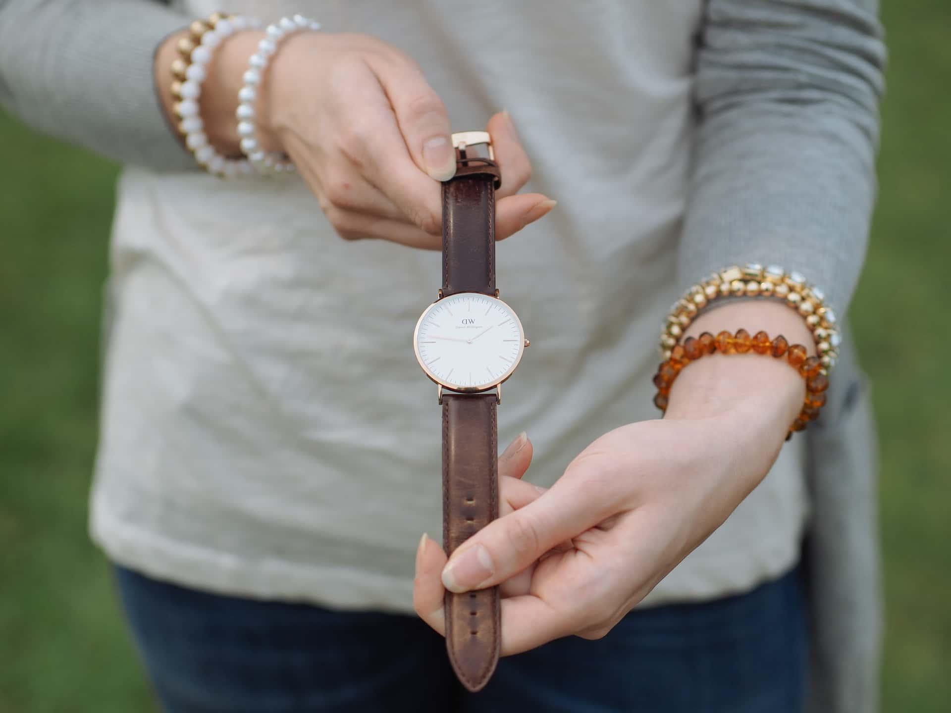 daniel wellington horloge dames