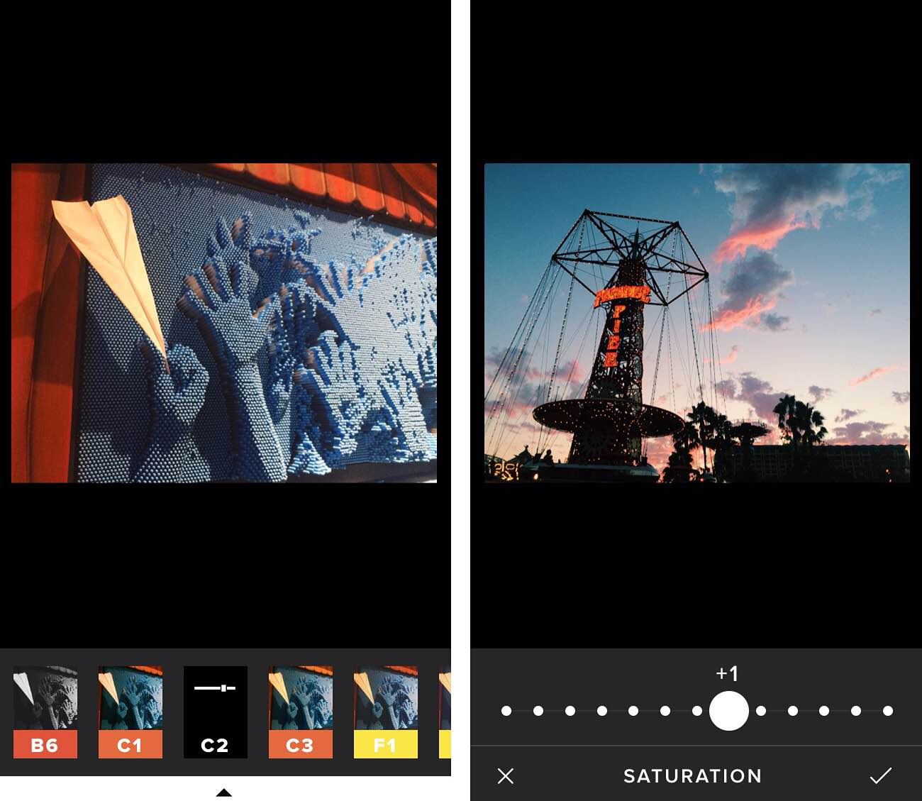 VSCO Cam for iOS is our favorite photo editing app.