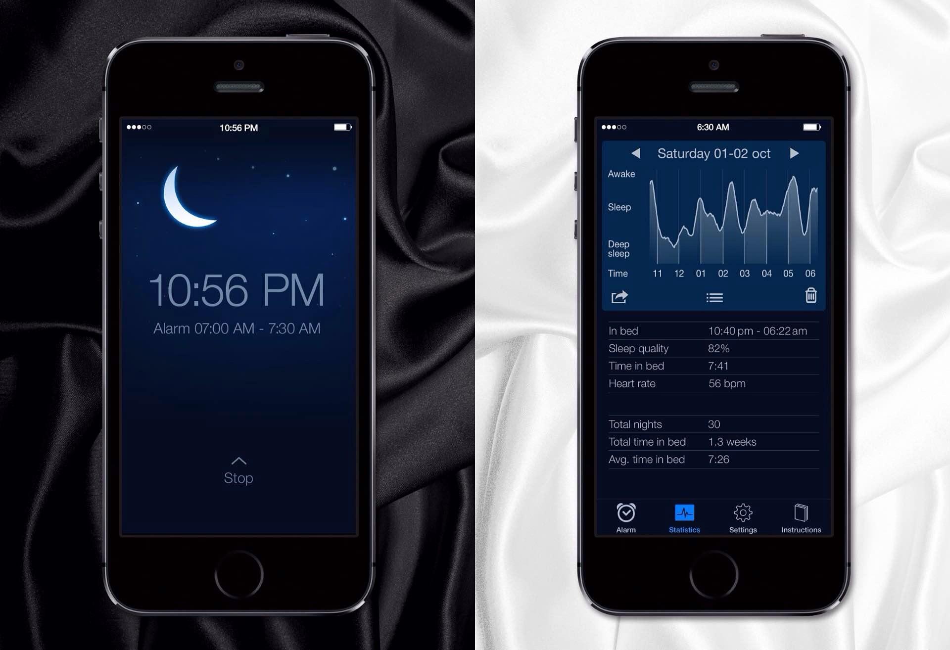 Sleep Cycle for iPhone. ($1)