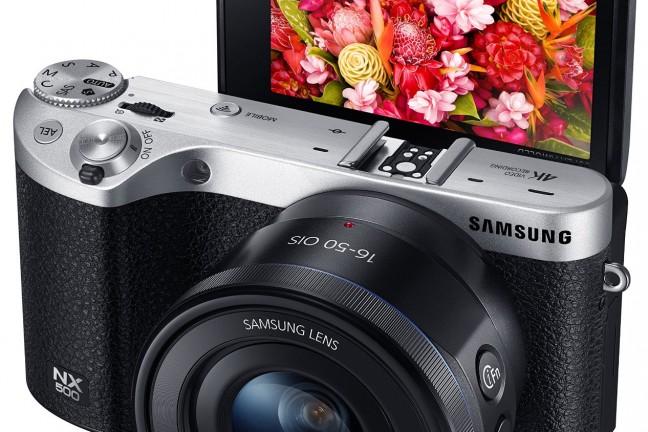 The [Samsung NX500](http://www.amazon.com/gp/product/B00SYKXMKS/ref=as_li_tl?ie=UTF8&camp=1789&creative=390957&creativeASIN=B00SYKXMKS&linkCode=as2&tag=toolsandtoys02-20&linkId=33NFRD2QVKMOS7RL) has an incredible back side illuminated 28MP sensor and captures 4k video.