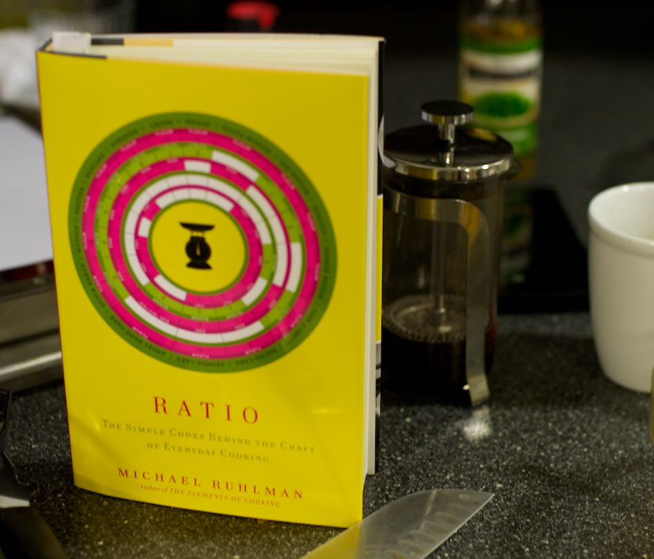 The Ratio Cookbook ($20)  Photo credit: Gabriel DiMartino