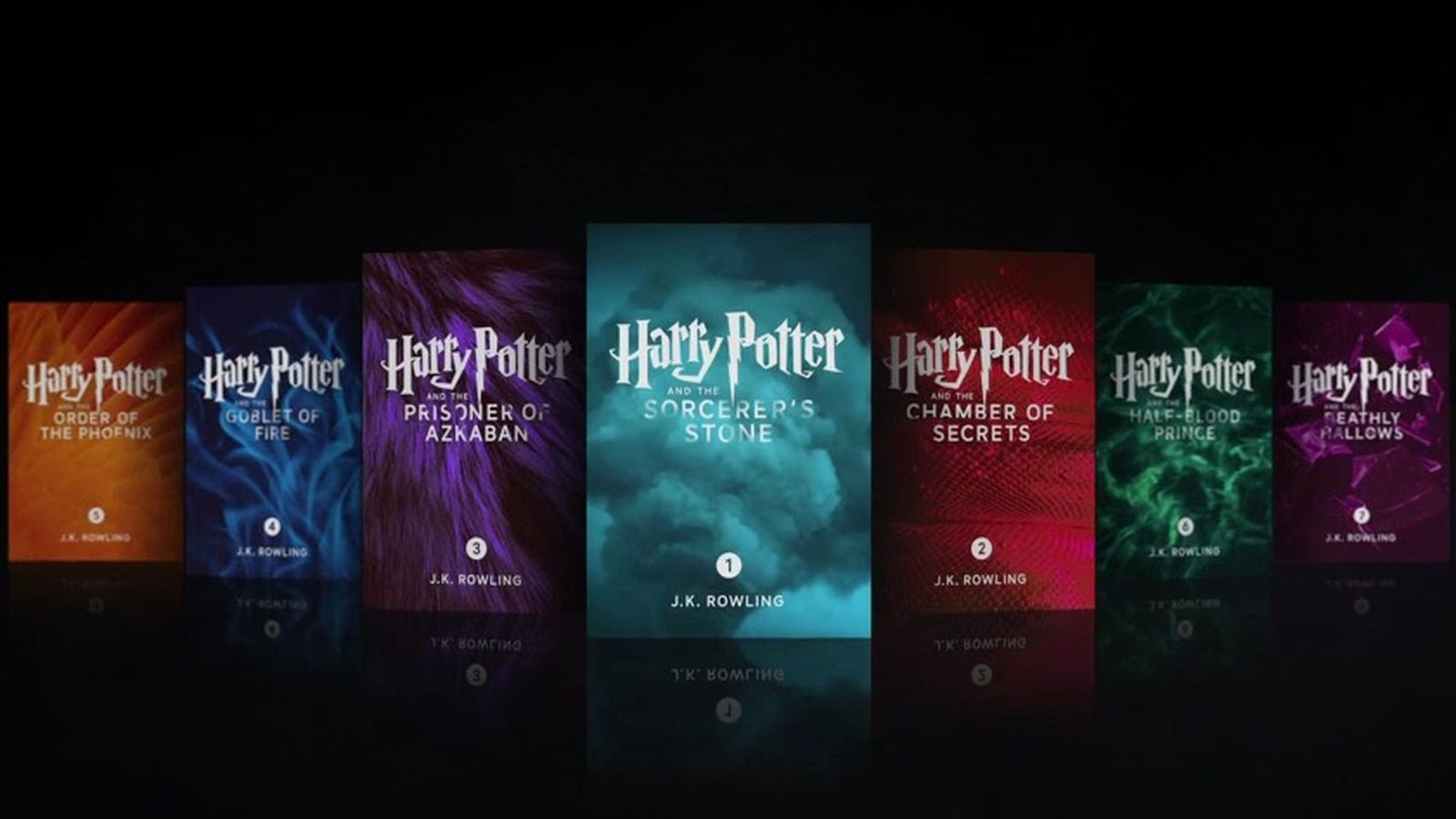 Harry Potter enhanced edition iBooks by J.K. Rowling.