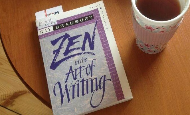 Zen in the Art of Writing: Essays on Creativity by Ray Bradbury.Photo: [Charmaine Clancy](http://charmaineclancy.com/writingzen/)
