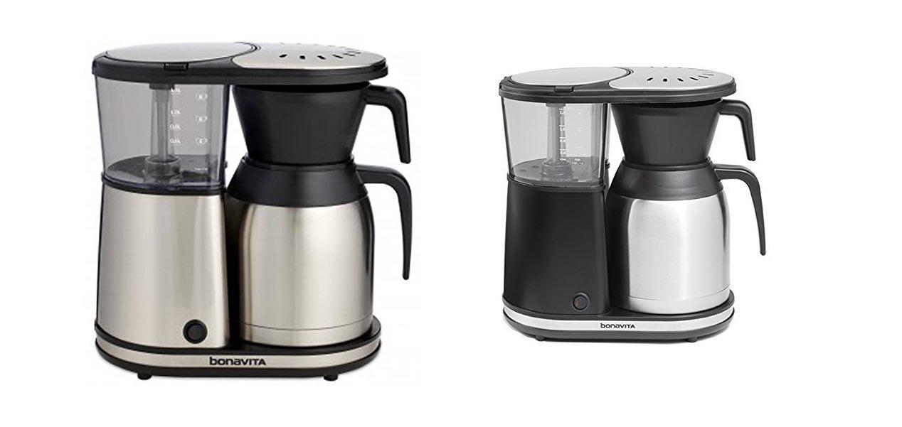 The Bonavita BV1900TS coffee maker. ($145)