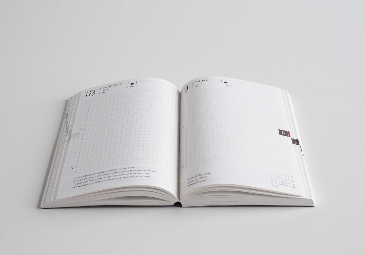 2016 Hobonichi planner. (~$23 USD + shipping)