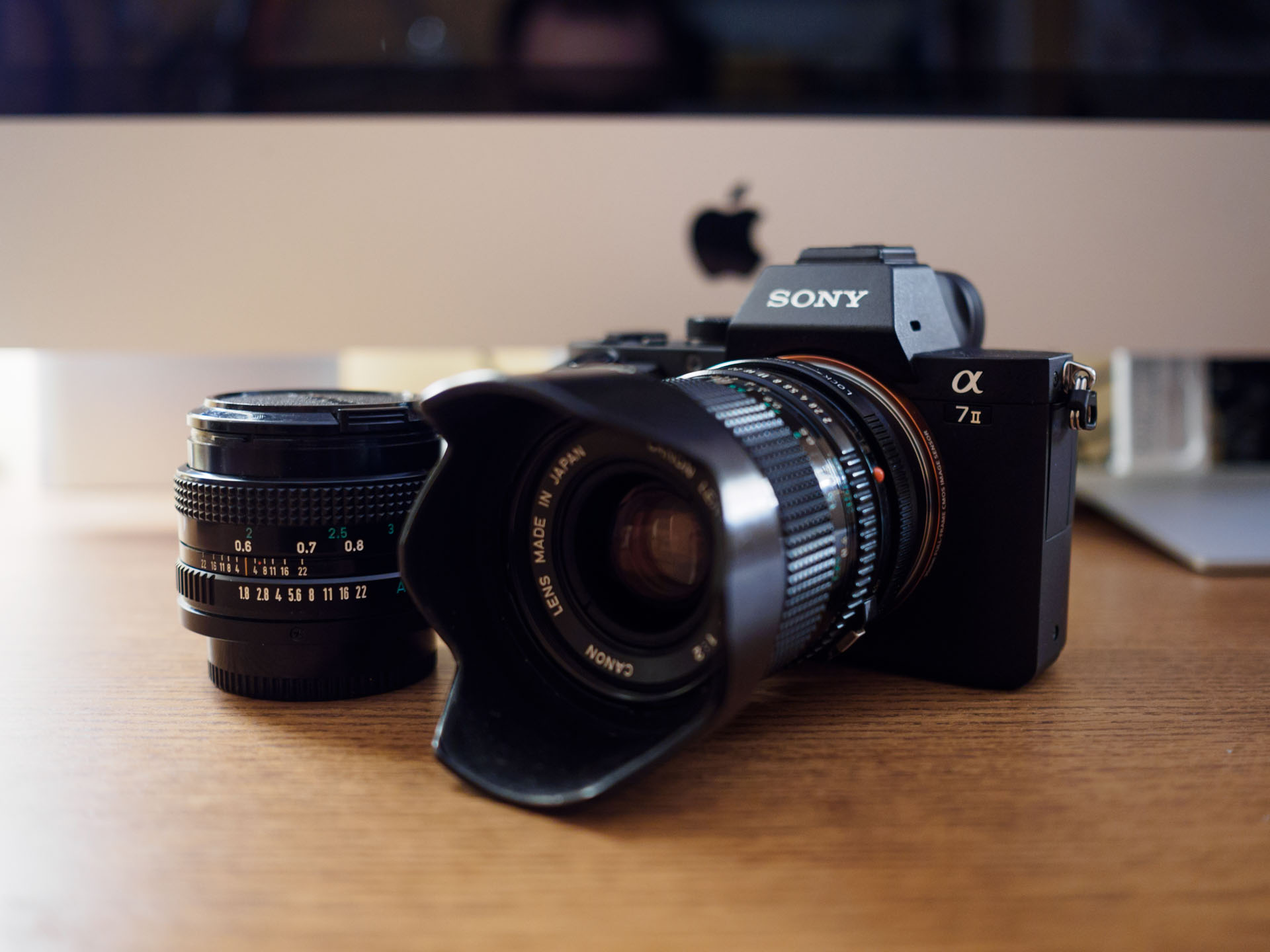 The Sony Alpha 7 Mark Ii Camera Review Tools And Toys La Ea3 Mount Adapter A7