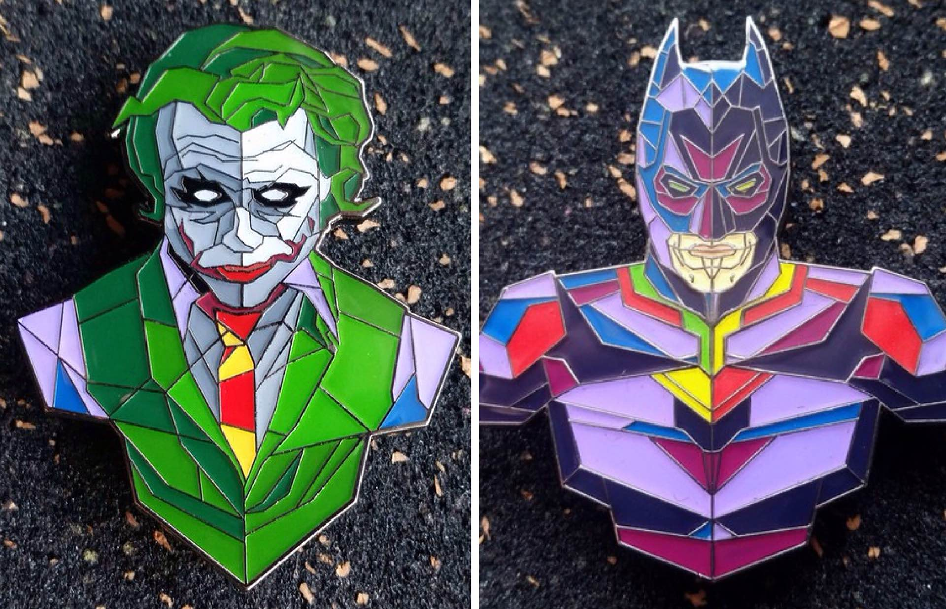 helmetica-batman-and-joker-pins
