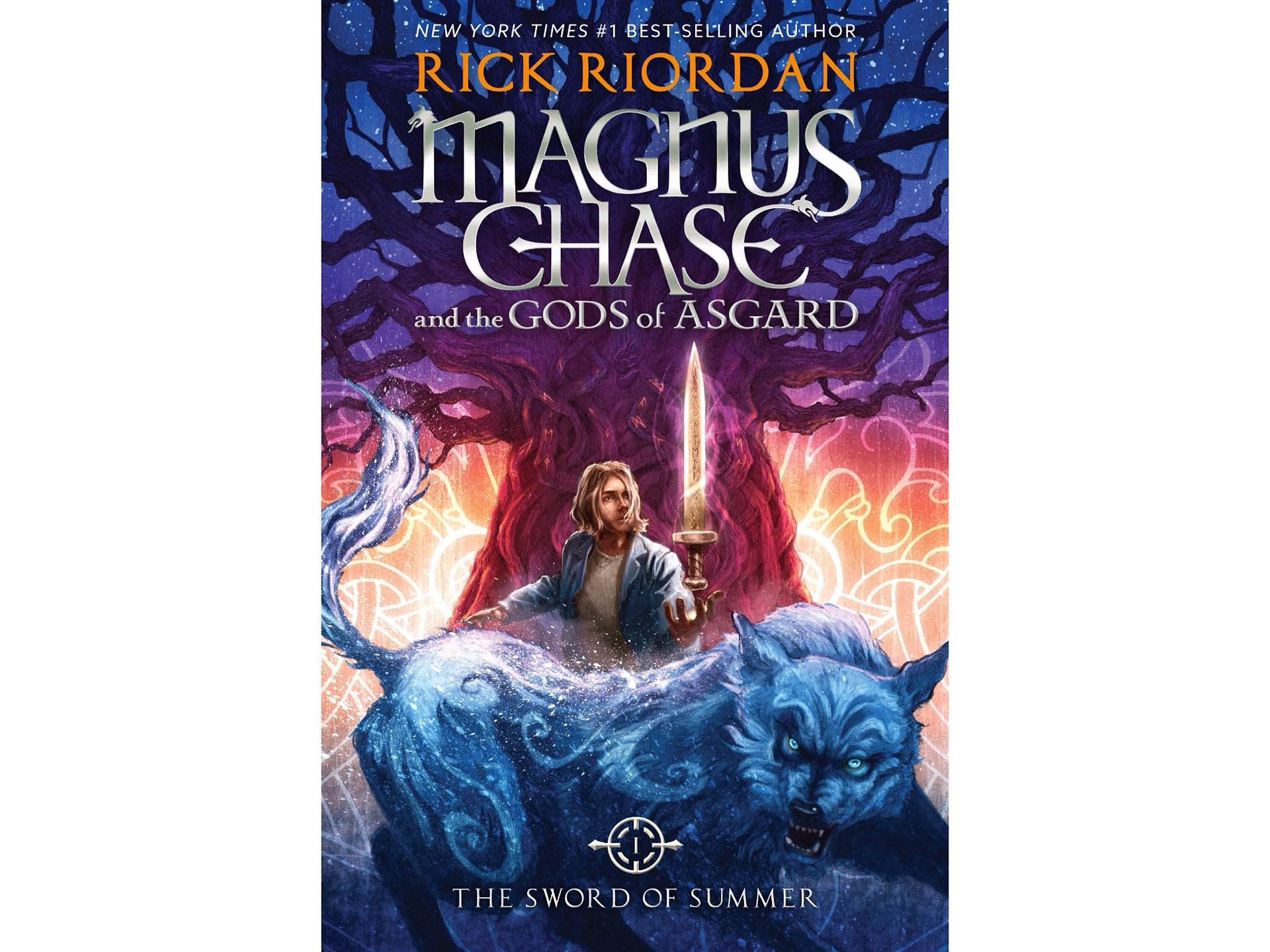 Magnus Chase and the Gods of Asgard, Book One: The Sword of Summer by Rick Riordan.