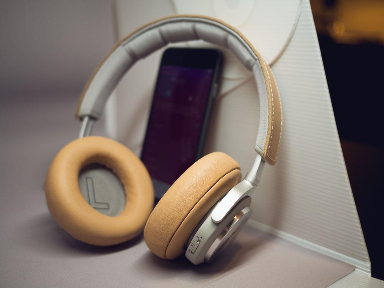Bang & Olufsen's BeoPlay H7 wireless headphones. ($449)