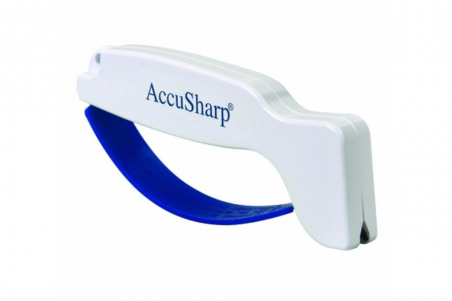 The AccuSharp 001 knife sharpener. ($10)