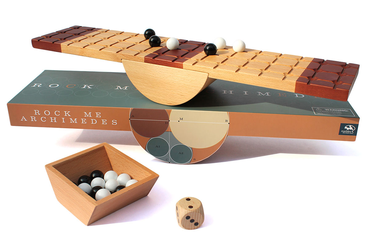 Rock Me Archimedes marble balance game. ($50)
