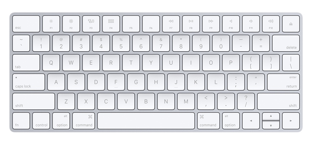The Apple Magic Keyboard. ($92)