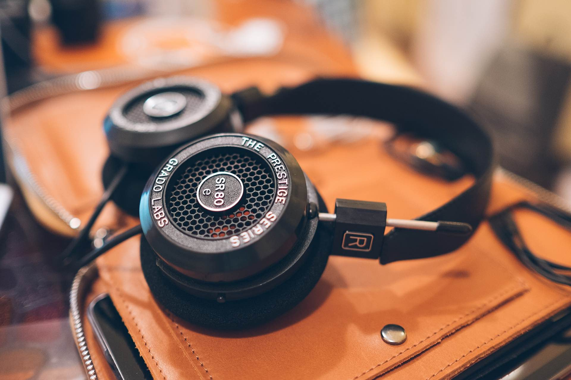 Grado's SR80e headphones. ($99)Photo: Jonathan Grado