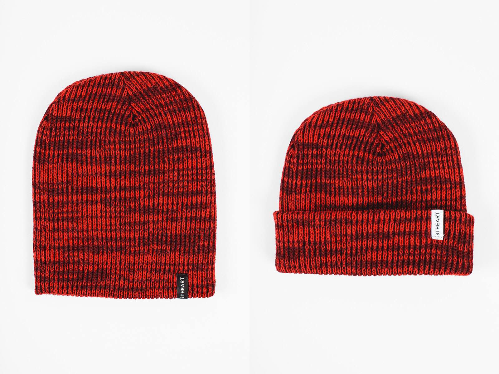 "Stheart's ""fire"" variable beanie. ($20)"