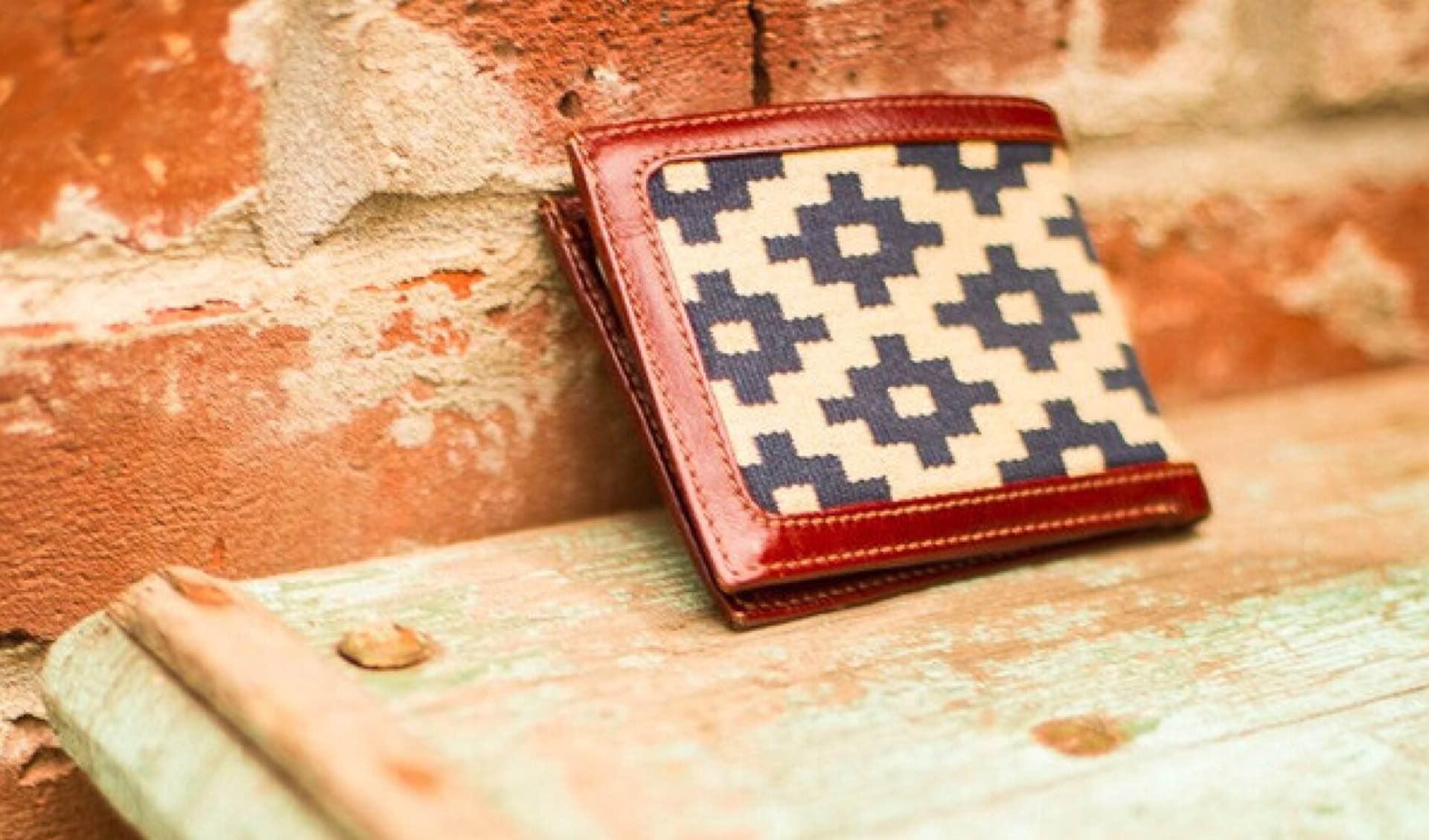 La Matera's Diplomático wallet. ($150)