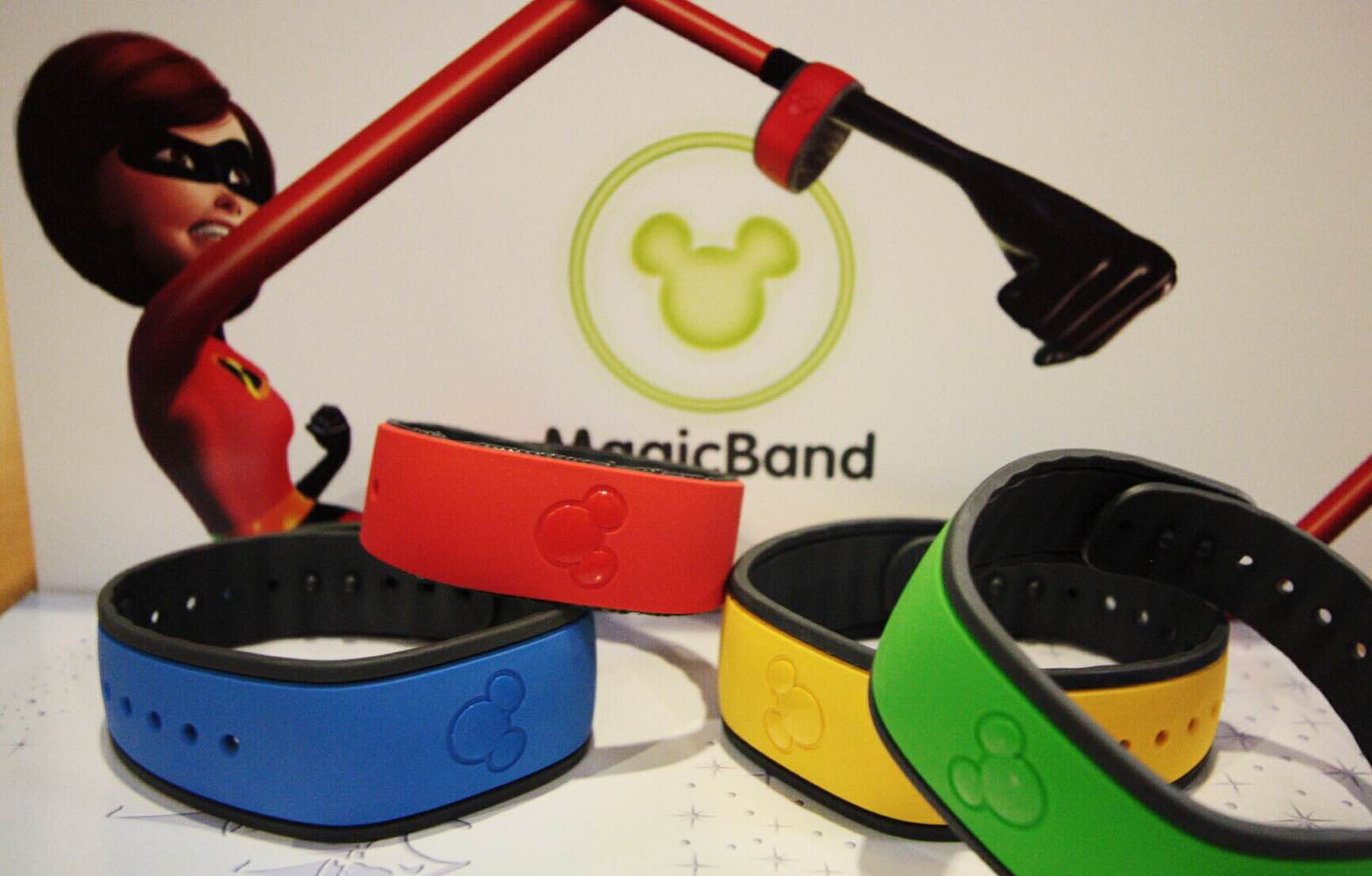 Disney's MagicBands. ($13–$20 a pop, unless you automatically receive some from Disney)Photo: Kevin Yee