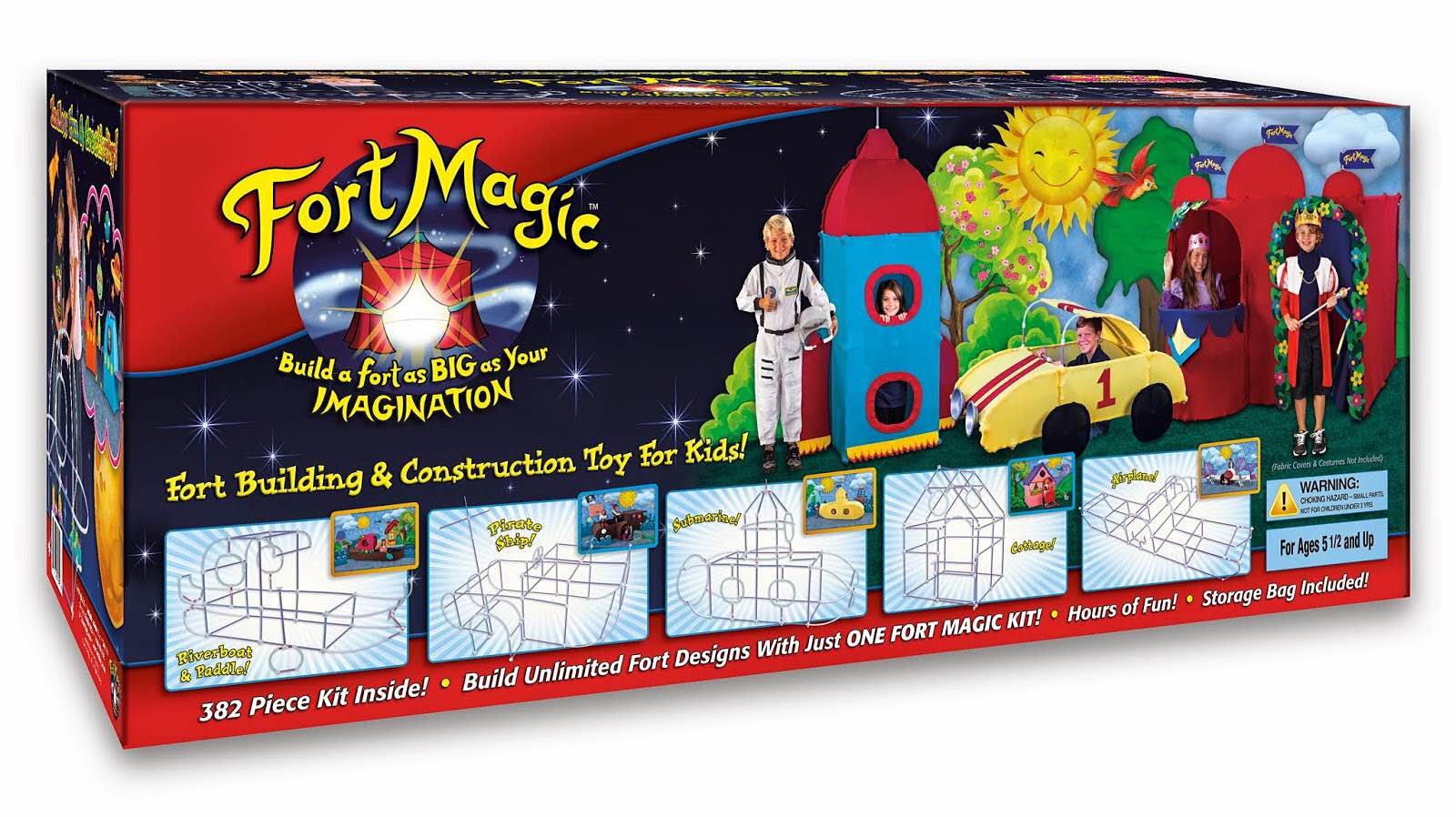 The Fort Magic fort construction kit. ($114)