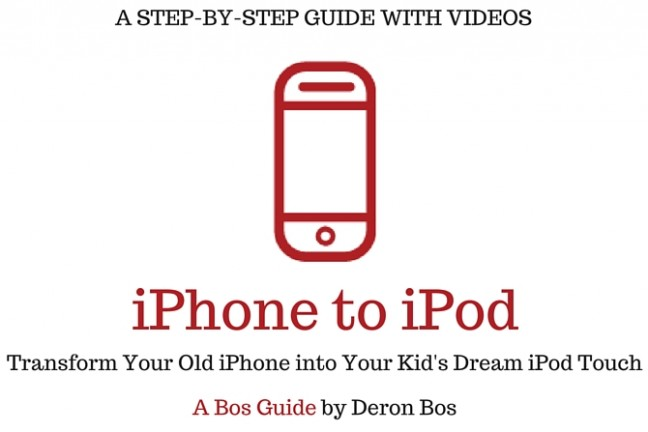 Transforming an Old iPhone into a Kid's Dream iPod Touch- (1)