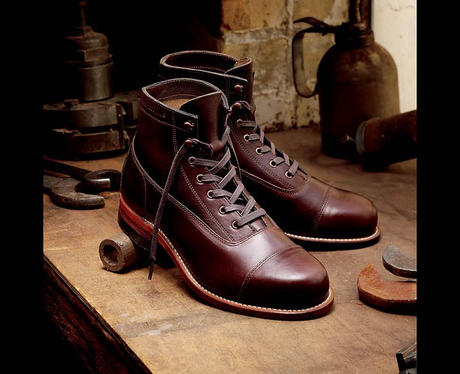 Wolverine's 1000-mile cap-toe Rockford boots. ($299–$399)